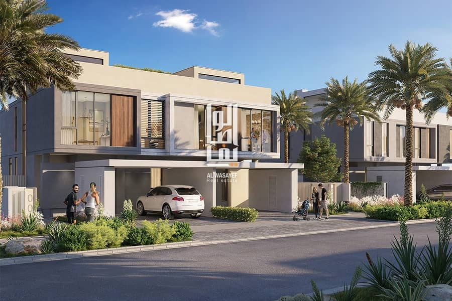3 BR Villa for sale with 4 years installments and 5% Down-payment!