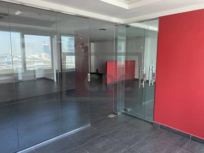 مکتب  للايجار في أبراج بحيرات الجميرا، دبي - 2 Cabins | Fully Fitted | Burj Al Arab View