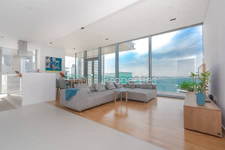 Full Sea View Unfurnished 2Bed+Maid