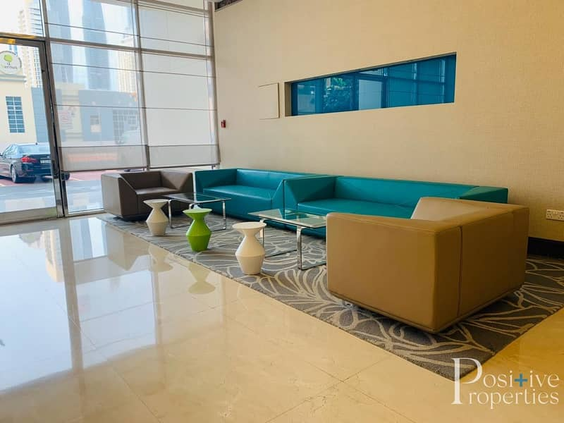 19 SPECIOUS 2+MAIDS APARTMENT IN AL SEEF 3 JLT NEAR METRO