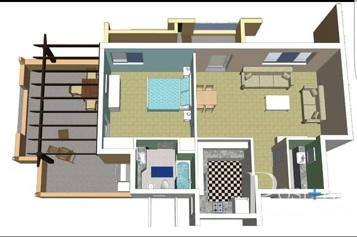 17 Inner circle | Terrace and Balcony | Best Price