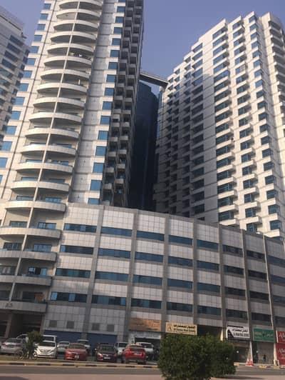شقة 3 غرف نوم للايجار في عجمان وسط المدينة، عجمان - شقة للايجار 3 غرف وصالة بابراج الفالكون 36000