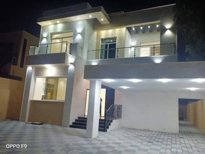 5 Bedroom Villa for Sale in Al Mowaihat, Ajman - Stop renting and own a new two-storey villa in Ajman very sophisticated finishing bank financing Next to Emirates Street