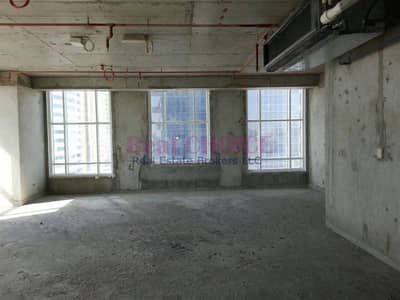 Office for Rent in Jumeirah Lake Towers (JLT), Dubai - Affordable Shell and Core Office|Sea View