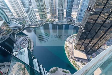 1 Bedroom Flat for Sale in Jumeirah Lake Towers (JLT), Dubai - Full Lake View | Furnished 2 BR+Study | High Floor