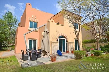 5 Bedroom Villa for Sale in Dubai Sports City, Dubai - Golf Course Facing   5 Bed C2   Large Plot