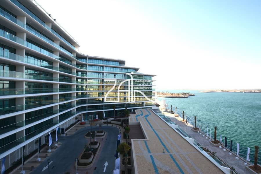 Vacant! Stunning Sea View 1 BR Apt with Balcony