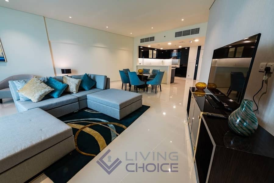 2 Luxurious Finishings | 1 BHK | Canal View