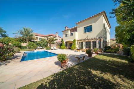 5 Bedroom Villa for Sale in Jumeirah Golf Estate, Dubai - New Listing | Best Street in JGE | Large Plot
