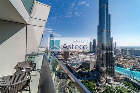 3 Bedroom Flat for Sale in Downtown Dubai, Dubai - Fully Furnished 3 bed l Burj & Fountain View