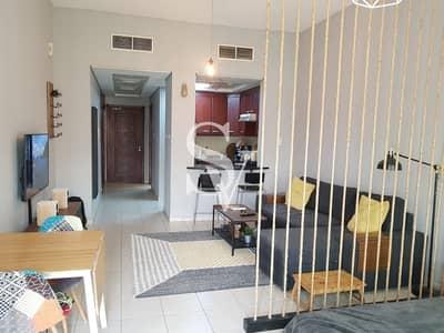استوديو  للايجار في ديسكفري جاردنز، دبي - Fully Furnished   Opp Metro   Pay Monthly