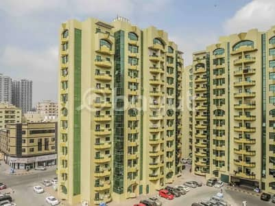 2 Bedroom Apartment for Rent in Al Rashidiya, Ajman - Spacious 2 Bed Hall 1566. Sqft in Rashidya tower at Downtown Ajman