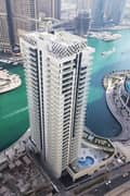 1 One Bedroom Hall Apartment For Rent in Continental Tower with Marina View
