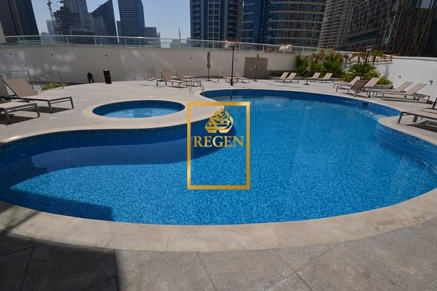 2 One Bedroom Hall Apartment For Rent in Continental Tower with Marina View