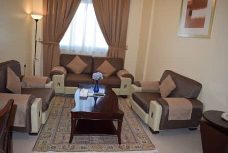 1 Bedroom Flat for Rent in Al Rashidiya, Ajman - NO COMMISSIONS! Serviced 1BHK on MONTHLY!