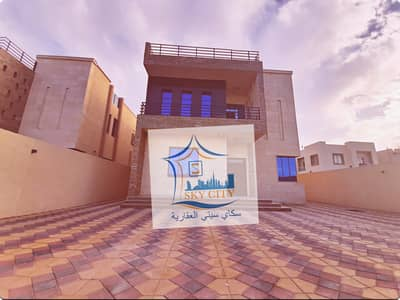 5 Bedroom Villa for Sale in Al Mowaihat, Ajman - Villa on a main street, large area, elegant design