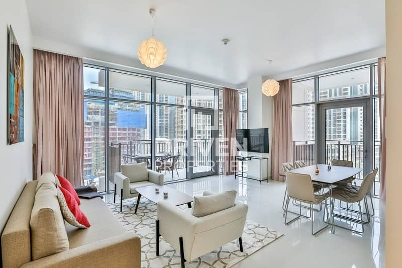 2 Elegant and Furnished 2 Bedroom Apartment