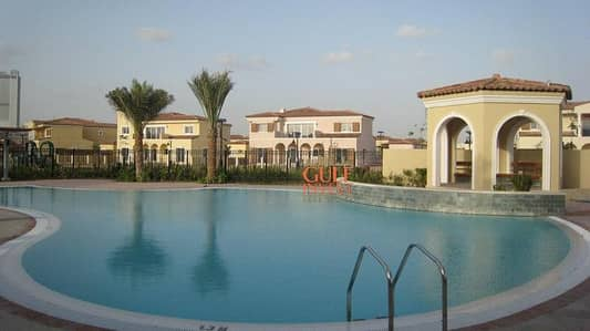 3 Bedroom Townhouse for Rent in Motor City, Dubai - Green Community Motor City 3 Bedroom Townhouse