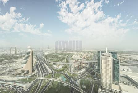 مکتب  للايجار في شارع الشيخ زايد، دبي - Shell and Core | Large Office with Zabeel View