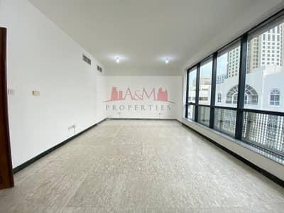 2 Bedroom Flat for Rent in Al Khalidiyah, Abu Dhabi - Amazing 2 Bedroom Apartment in Khalidiyah with Builtin wardrobes for 53