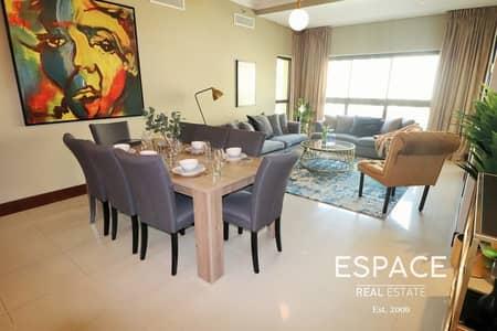 شقة 3 غرف نوم للايجار في نخلة جميرا، دبي - Luxury Furnished | Vacant | Keys with Me