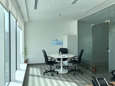 Bright Office with Glass Partitions @ Burlington