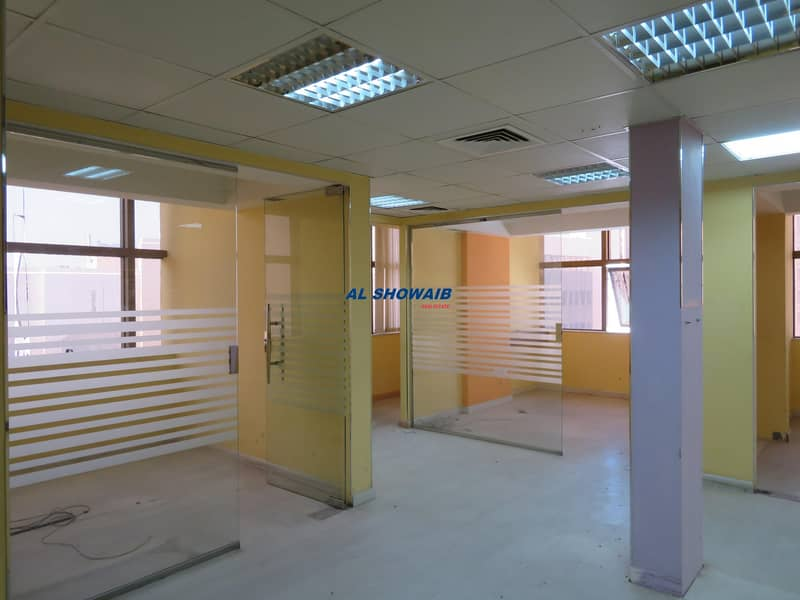 2 600 SQ-FT Fully Fitted Office Behind Ambassador Hotel Burdubai