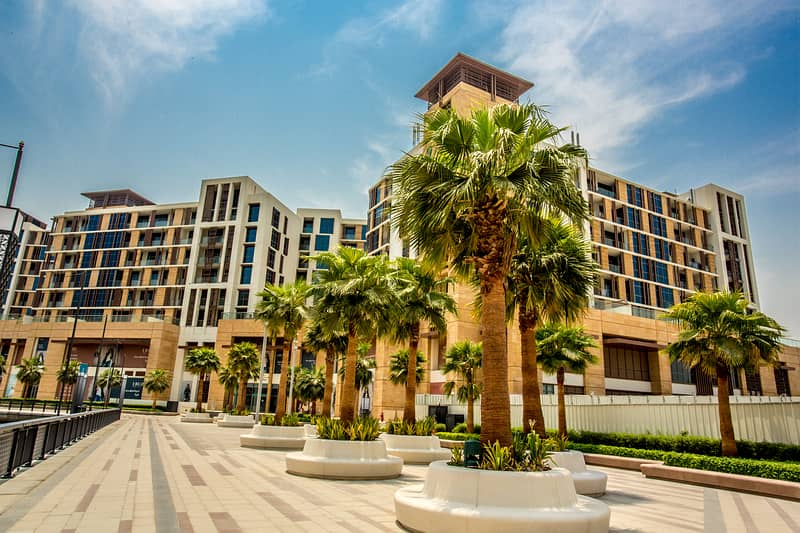 Waterfront living 1 Bedroom Apartment at Dubai Wharf   No commission   Monthly payment
