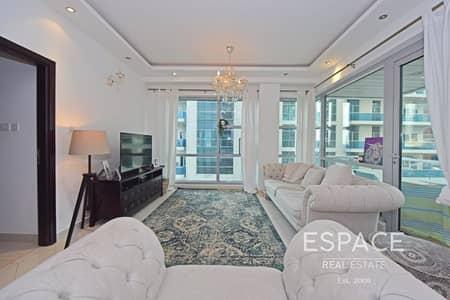 2 Bedroom Apartment for Sale in Dubai Marina, Dubai - 1158 Sqft BUA | 2 Beds | Close to Metro
