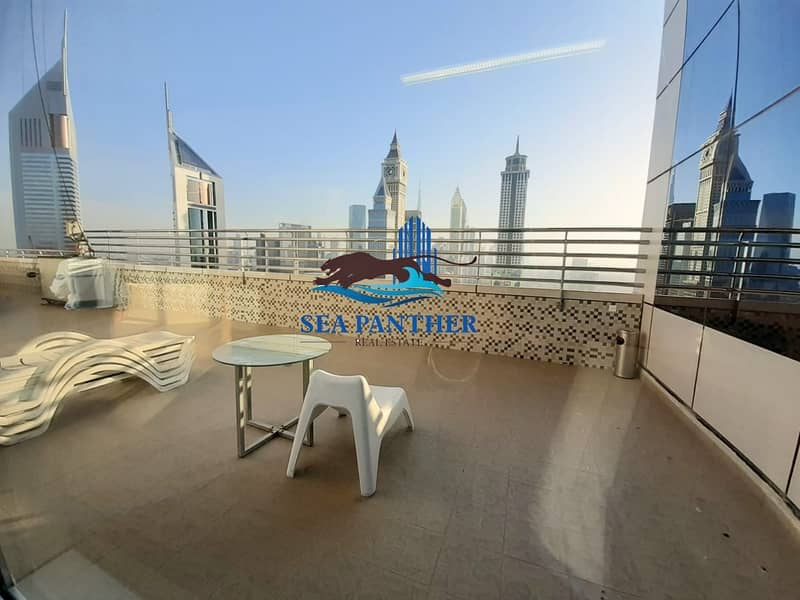 SPACIOUS 2 BHK in SHEIKH ZAYED ROAD | AED 85K