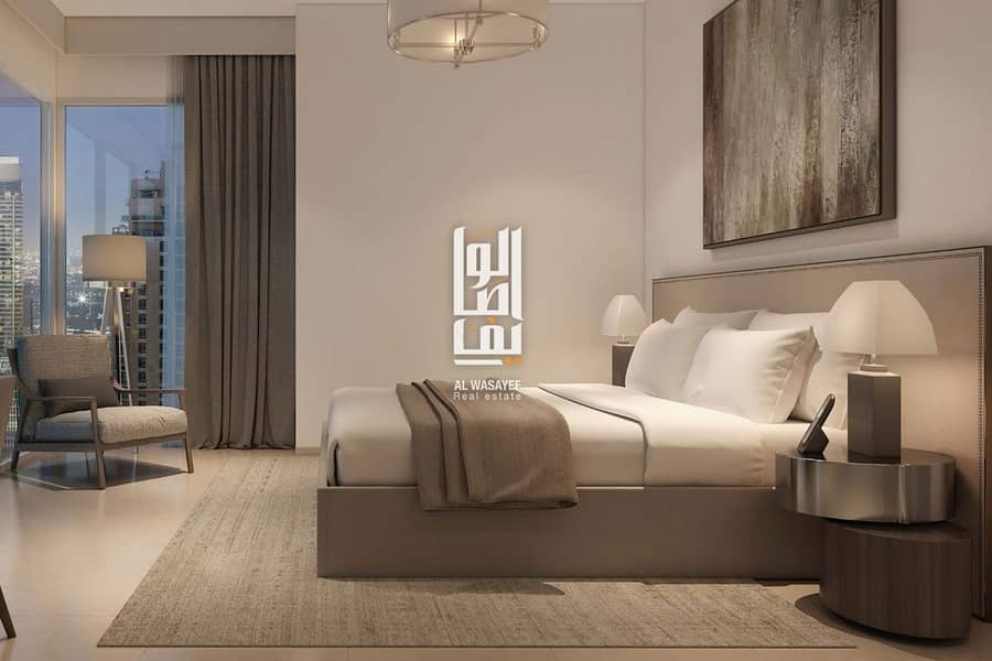Pay 10% and own a luxury 2 BR apartment in Downtown with 4 years installments