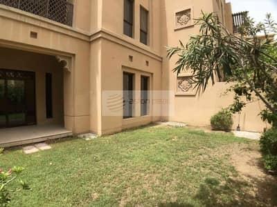 فلیٹ 1 غرفة نوم للبيع في المدينة القديمة، دبي - Rare 1 BR Apartment w/ Large Garden in Zanzebeel 3