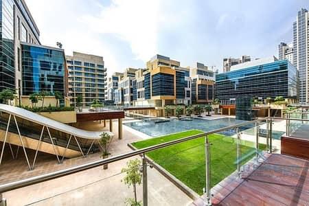 فلیٹ 1 غرفة نوم للبيع في الخليج التجاري، دبي - Canal view | Duplex Apt | Big Size with Terrace