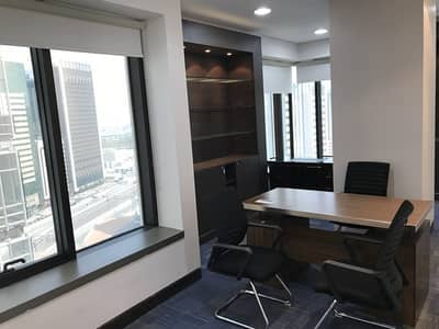 Office for Rent in Al Markaziya, Abu Dhabi - furnished offices and complete business set up services under one roof