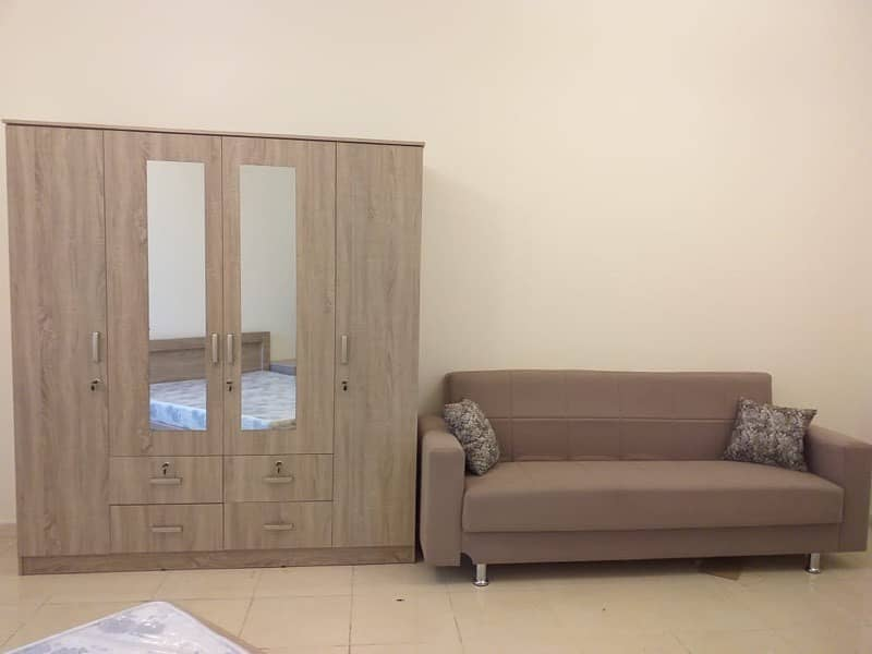 full furnished studio with bills at 3000 monthly