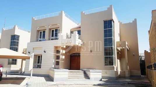4 Bedroom Villa for Rent in Khalifa City A, Abu Dhabi - SUPER BRIGHT 4 BEDS VILLA IN KCA 2 PARKINGS 130K!