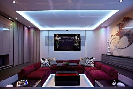 6 Bedroom Villa for Sale in Emirates Hills, Dubai - Mansion   Golf course   Skyline View Villa