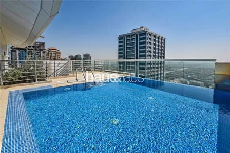 3 Bedroom Penthouse for Rent in Jumeirah Lake Towers (JLT), Dubai - Private Pool | Home Cinema | Available Now