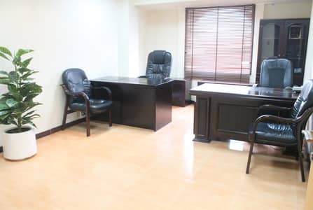 Office for Rent in Al Garhoud, Dubai - Fitted Private office-270sq ft