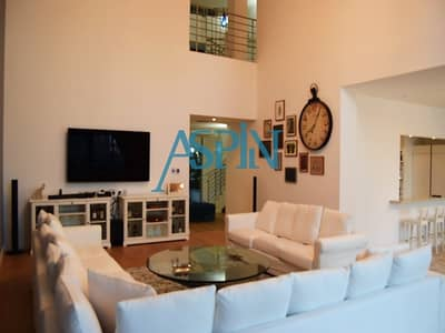 4 Bedroom Villa for Sale in Dubai Marina, Dubai - Full Marina View Fully Furnished Upgraded Villa
