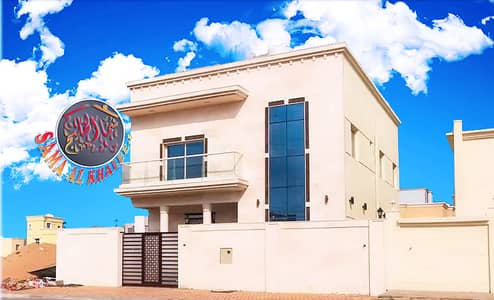 5 Bedroom Villa for Sale in Al Yasmeen, Ajman - New villa close to a mosque at a great price - on a Main Road