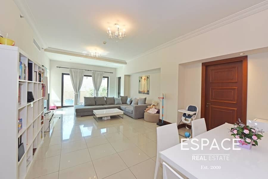 2 Bed | 2096 sqft BUA | Extended Terrace