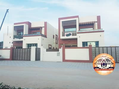 5 Bedroom Villa for Sale in Al Rawda, Ajman - Villa for sale very luxurious finishes / freehold for all nationalities with the possibility of bank financing