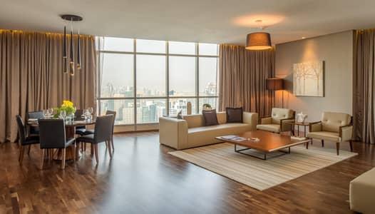 بنتهاوس 4 غرف نوم للايجار في دبي مارينا، دبي - Spacious and Beautiful Four-Bedroom Penthouse