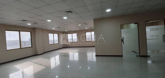 مکتب  للايجار في القوز، دبي - Refurbished   Fitted Office   Chiller Free