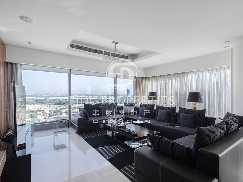 1 Fully Furnished | Super Luxury | Stunning view