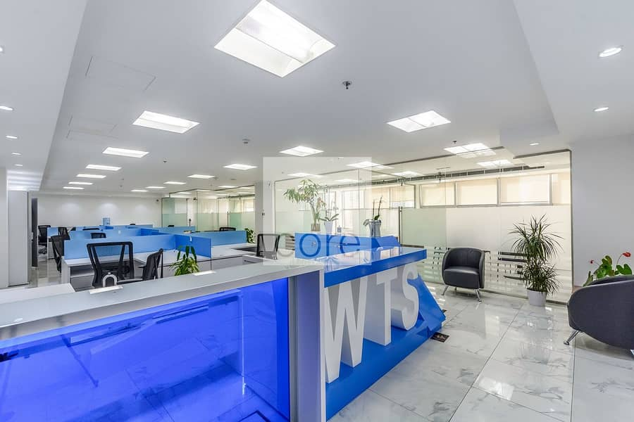 2 Spacious Fitted Office | Mid Floor | Parking