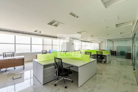 Office for Sale in Jumeirah Lake Towers (JLT), Dubai - Fitted Office | Prime Location | Low Floor