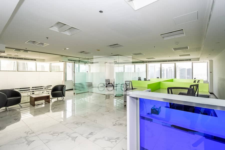 15 Mid Floor | Fitted Office | Prime Location