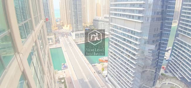 2 Bedroom Flat for Rent in Dubai Marina, Dubai - AWESOME UPGRADED TWO BED ROOM+MAID WITH PLEASING VIEW OF LAKE
